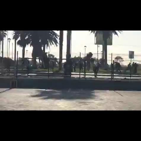 Disparos contra manifestantes en LaSerena