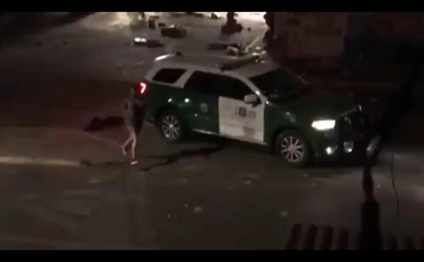 Carabineros golpea brutalmente a detenidos y seburlan
