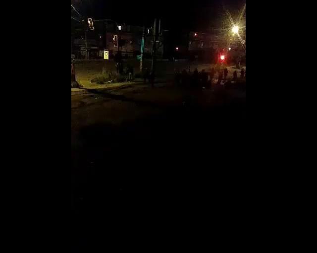 Militares disparan a manifestantes enTemuco